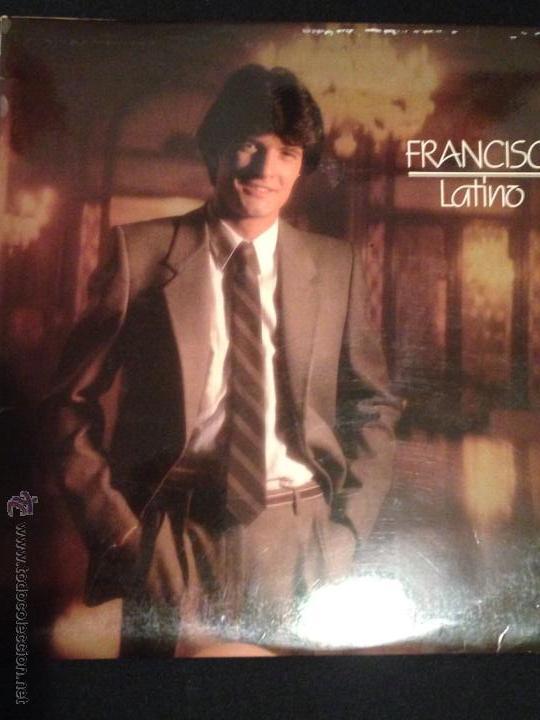 DISCO VINILO LP FRANCISCO LATINO (Música - Discos - LP Vinilo - Solistas Españoles de los 70 a la actualidad)