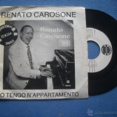 Discos de vinilo: RENATO CAROSONE IO TENGO NÁPPARTAMENTO SINGE SPAIN 1982 PDELUXE. Lote 52696282