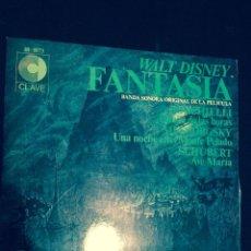 Discos de vinilo: DISCO VINILO LP BANDA SONORA FANTASIA .DISNEY. Lote 52698214