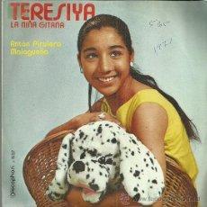 Discos de vinilo: TERESIYA SINGLE SELLO DISCOPHON AÑO 1971 EDITADO EN ESPAÑA. Lote 52698311