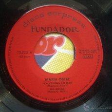 Discos de vinilo: SINGLE FUNDAROR CON CARATULA MARIA OSTIZ EP 1971 VER FOTOS. Lote 52705681
