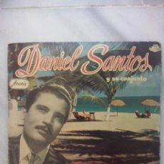 Discos de vinilo: DANIEL SANTOS Y SU CONJUNTO DE SOCIEDAD- BAILA CONMIGO +3- EP HISPAVOX 1959. Lote 52708665