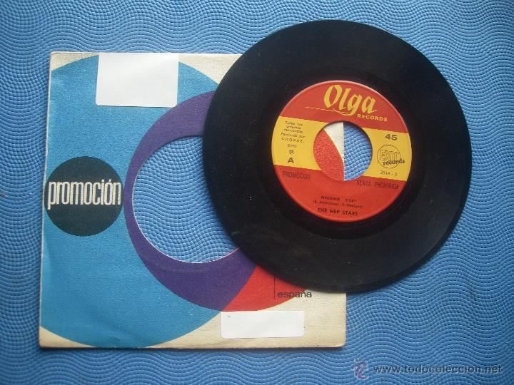 THE HEP STARS WEDDING SINGLE SPAIN 1969 PDELUXE (Música - Discos - Singles Vinilo - Pop - Rock Extranjero de los 50 y 60)