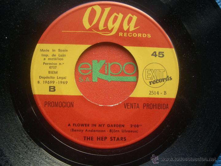 Discos de vinilo: THE HEP STARS WEDDING SINGLE SPAIN 1969 PDELUXE - Foto 3 - 52724379