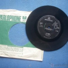 Discos de vinilo: THE BEATLES HELP / I´M DOWN SNGLE 1965 UK PDELUXE. Lote 52724576