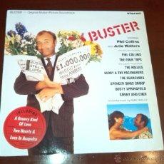 Discos de vinilo: BUSTER - BSO - LP - 1988.. Lote 52727446