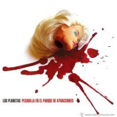 Discos de vinilo: SINGLE LOS PLANETAS PESADILLA EN EL PARQUE DE ATRACCIONES VINILO. Lote 210183228