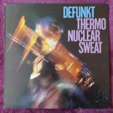 Discos de vinilo: DEFUNKT, THERMONUCLEAR SWEAT (NUEVOS MEDIOS 1982) LP ESPAÑA. Lote 84625723