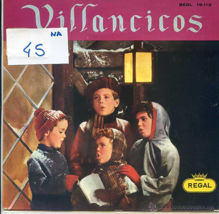 NAVIDAD - VILLANCICOS - CAPILLA CLASICA POLIFONICA DEL F.A.D. (EP 1958) (Música - Discos de Vinilo - EPs - Otros estilos)