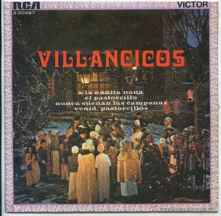 NAVIDAD - VILLANCICOS - COMPAÑIA INFANTIL DE TELEVICENTRO DE MEXICO (EP 1962) (Música - Discos de Vinilo - EPs - Otros estilos)