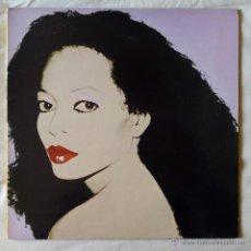 Discos de vinilo: DIANA ROSS, SILK (EMI 1982) LP ESPAÑA PROMOCIONAL - GATEFOLD. Lote 52735953