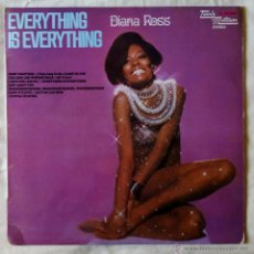 Discos de vinilo: DIANA ROSS, EVERYTHING IS EVERYTHING (MOVIEPLAY 1973) LP ESPAÑA. Lote 52736199
