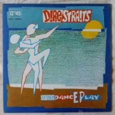 Discos de vinilo: DIRE STRAITS, TWISTING BY THE POOL (FONOGRAM 1983) MAXI SINGLE ESPAÑA. Lote 52737173
