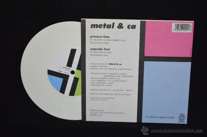 Discos de vinilo: METAL & CA - EL ULTIMO SUPERVIVIENTE +3 - EP - Foto 2 - 52743862