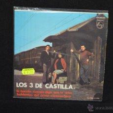 Discos de vinilo: LOS 3 DE CASTILLA - LA BANDA +3 - EP. Lote 52743995