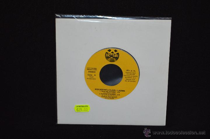 BOB DESTINY & CLAVEL Y JAZMÍN - TWIST DEL AUTOBÚS + 3 - EP PROMOCIONAL TIC TAC (Música - Discos de Vinilo - EPs - Solistas Españoles de los 70 a la actualidad)