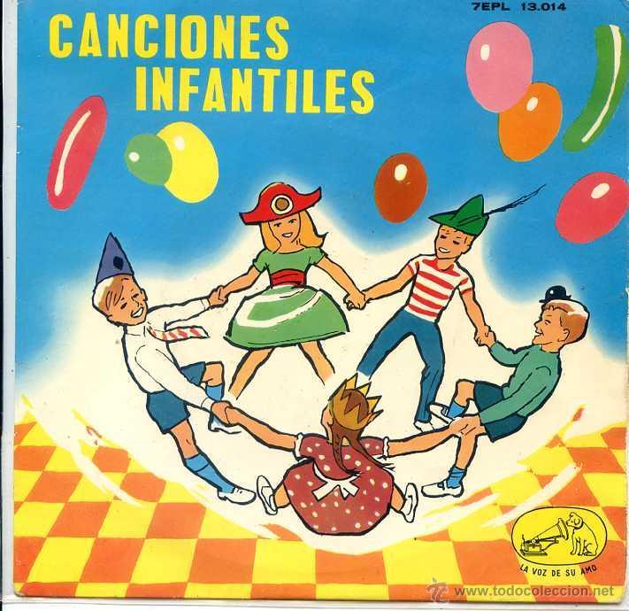 CANCIONES INFANTILES - CORO DE NIÑAS Y ORQUESTA (EP 1963 VER TEMAS) (Música - Discos de Vinilo - EPs - Música Infantil)