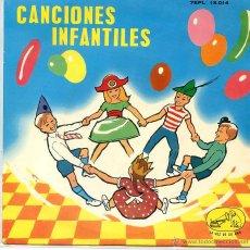 Discos de vinilo: CANCIONES INFANTILES - CORO DE NIÑAS Y ORQUESTA (EP 1963 VER TEMAS). Lote 52750891