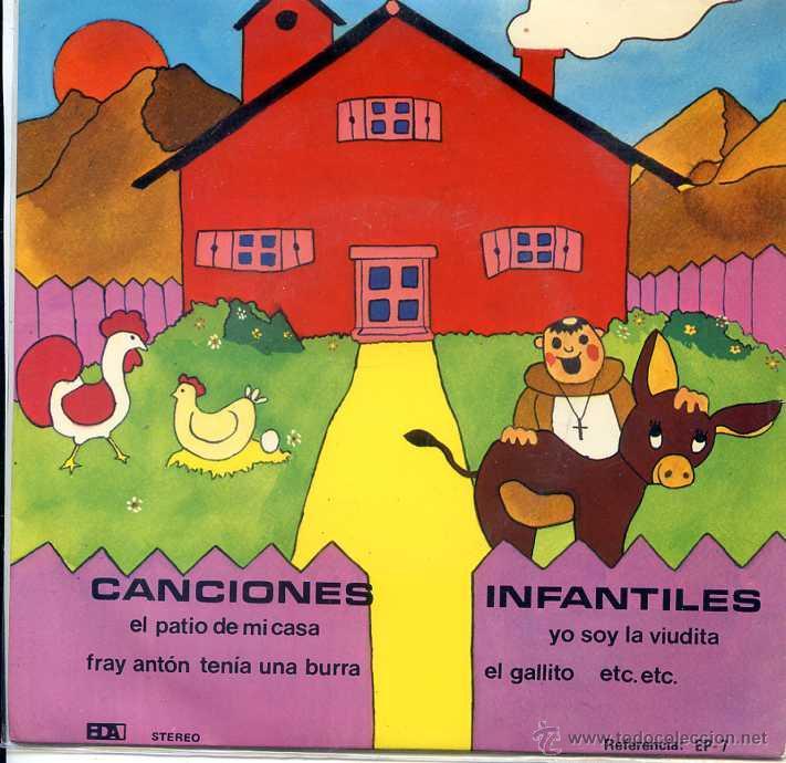 CANCIONES INFANTILES - CORAL PEQUES (EP 1977) (Música - Discos de Vinilo - EPs - Música Infantil)