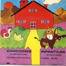 Discos de vinilo: CANCIONES INFANTILES - CORAL PEQUES (EP 1977). Lote 52750913