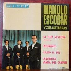 Discos de vinilo: MANOLO ESCOBAR Y SUS GUITARRAS (BELTER, 1964). Lote 52752185