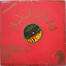 Discos de vinilo: STEAL AWAY GIRL-SUGAR MINOTT /WHO YOU GONNO RUN TO-ERNEST WILSON - HAWKEYE LIMITED EDITION - UK 1980. Lote 52755734