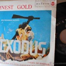 Disques de vinyle: EXODUS- EP DEL FILM-ERNEST GOLD -ESPAÑOL 1963. Lote 52758495