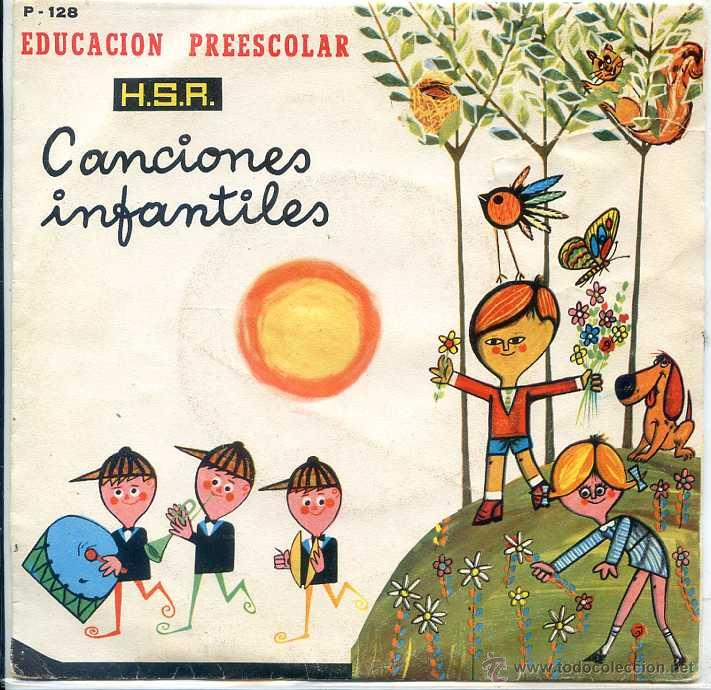 CANCIONES INFANTILES - EDUCACION PREESCOLAR (EP 1970) VER TEMAS (Música - Discos de Vinilo - EPs - Música Infantil)
