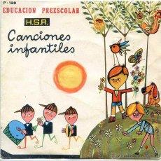 Discos de vinilo: CANCIONES INFANTILES - EDUCACION PREESCOLAR (EP 1970) VER TEMAS. Lote 52758496