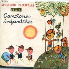 Discos de vinilo: CANCIONES INFANTILES - EDUCACION PREESCOLAR (EP 1970) VER TEMAS. Lote 52758507