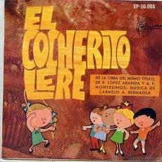 Discos de vinilo: EL COCHERITO LERE / EL SEÑOR DON GATO / MAMBRU SE FUE A LA GUERRA + 7 (EP 1968). Lote 52758959