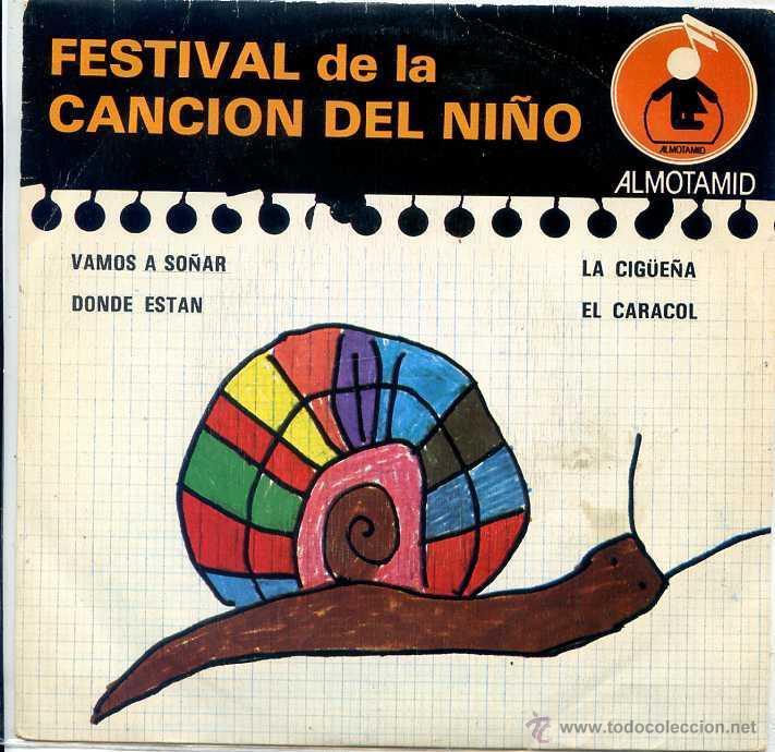 FESTIVAL DE LA CANCION DEL NIÑO / EL CARACOL + 3 (EP 1979) (Música - Discos de Vinilo - EPs - Música Infantil)