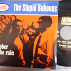 Discos de vinilo: THE STUPID BABOONS-EP OCTOBER IN THE RAIN + 2. Lote 52761660