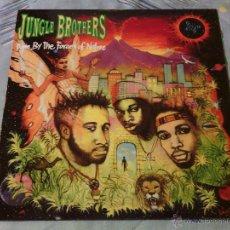 Discos de vinilo: LP VINILO JUNGLE BROTHERS - DONE BY THE FORCES OF NATURE / RAP HIP HOP USA / 1989 ORIG. PRESS / RARO. Lote 52763064