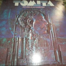 Discos de vinilo: TOMITA - PICTURES AT AN EXHIBITION LP - ORIGINAL ALEMAN DDR - AMIGA RECORDS 1975 -. Lote 52763457