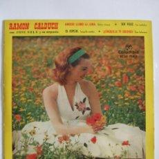 Discos de vinilo: RAMON CALDUCH CON JOSE SOLA Y SU ORQUESTA - COLUMBIA 1960 - 4 TEMAS. Lote 52766293