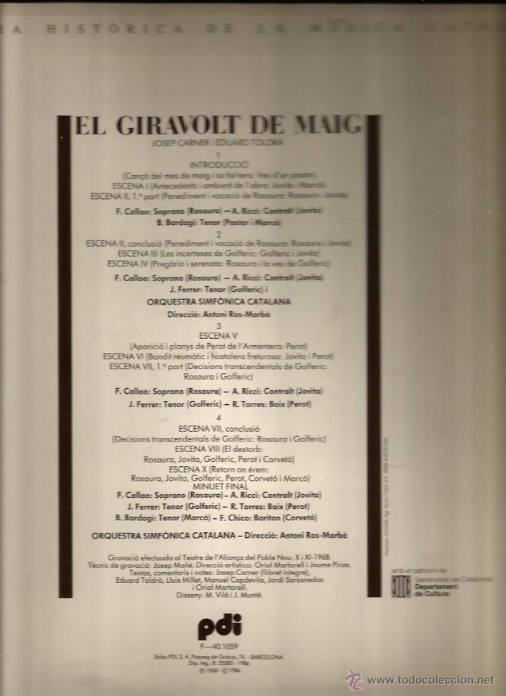 doble lp josep carner & eduard toldrà : el gira - Comprar Discos LP ...