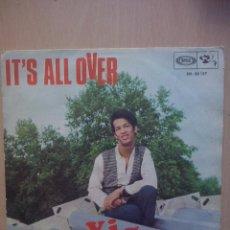 Discos de vinilo: VIGON- IT'S ALL OVER/ THE SPOILER- SINGLE BARCLAY 1968. Lote 52769966