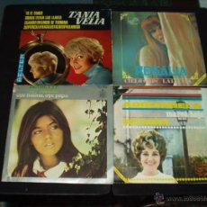 Discos de vinilo: LOTE 4 SINGLES CHICAS ESPAÑOLAS AÑOS 60 YE- YE. Lote 52771159