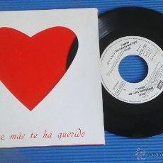 Discos de vinilo: DYANGO - EL QUE MÁS TE HA QUERIDO - SINGLE EMI 1990 PROMO. Lote 52773182