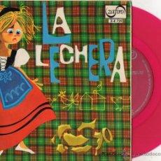 Discos de vinilo: LA LECHERA - CUENTO INFANTIL, EP, PRIMERA PARTE ... + 1, AÑO 1966. Lote 52780743