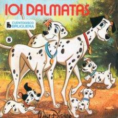 Discos de vinilo: CUENTO DISCO BRUGUERA - WALT DISNEY -, EP, 101 DALMATAS + 2, AÑO 1968. Lote 52780951