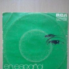 Discos de vinilo: LUCIO BATTISTI EN ESPAÑOL- MI LIBRE CANCION- SINGLE RCA 1974. Lote 52785165