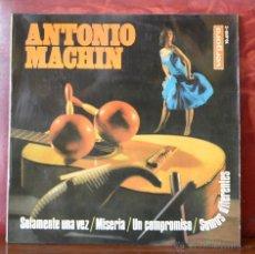 Discos de vinilo: ANTONIO MACHIN (VERGARA, 1967). Lote 52800108