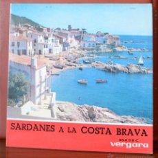 Discos de vinilo: COBLA LAIETANA - SARDANES A LA COSTA BRAVA (VERGARA, 1964). Lote 52801920