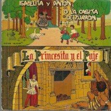 Discos de vinilo: ISABELITA Y ANTON O LA CASITA DE TURRON (CUENTO) EP SELLO ODEON AÑO 1958 EDITADO EN ESPAÑA. Lote 52805928