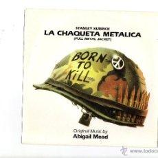 Disques de vinyle: LA CHAQUETA METALICA - BSO - SINGLE - NUEVO.. Lote 52814883