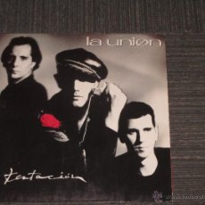 Discos de vinil: LA UNION - TENTACION - SPAIN - WEA - 1990 - INC ENCARTES - IBL -. Lote 52815173