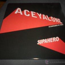 Discos de vinilo: ACEYALONE ACCOMPANIED BY RID2 --- SUPAHERO. Lote 52815927