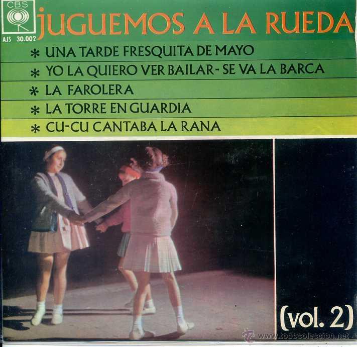JUGUEMOS A LA RUEDA VOL 2 - LAS ARDILLITAS / UNA TARDE FRESQUITA DE MAYO + 4 (EP 1962) (Música - Discos de Vinilo - EPs - Música Infantil)
